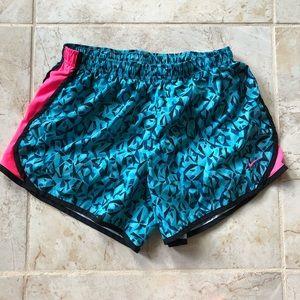Nike Dri-FIt Blue & Pink Shorts XL